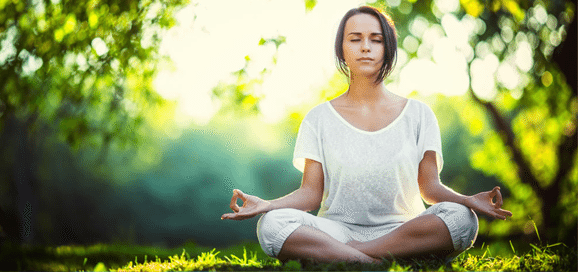 When is the easiest time of day to meditate?